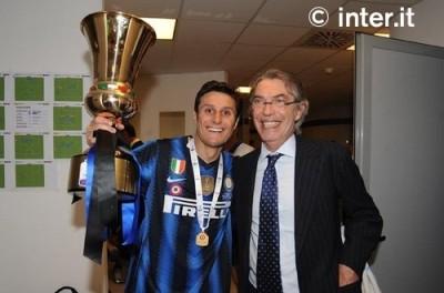 Zanetti, Moratti, dan Coppa Italia 2011